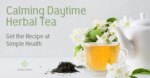 Calming Daytime Herbal Tea
