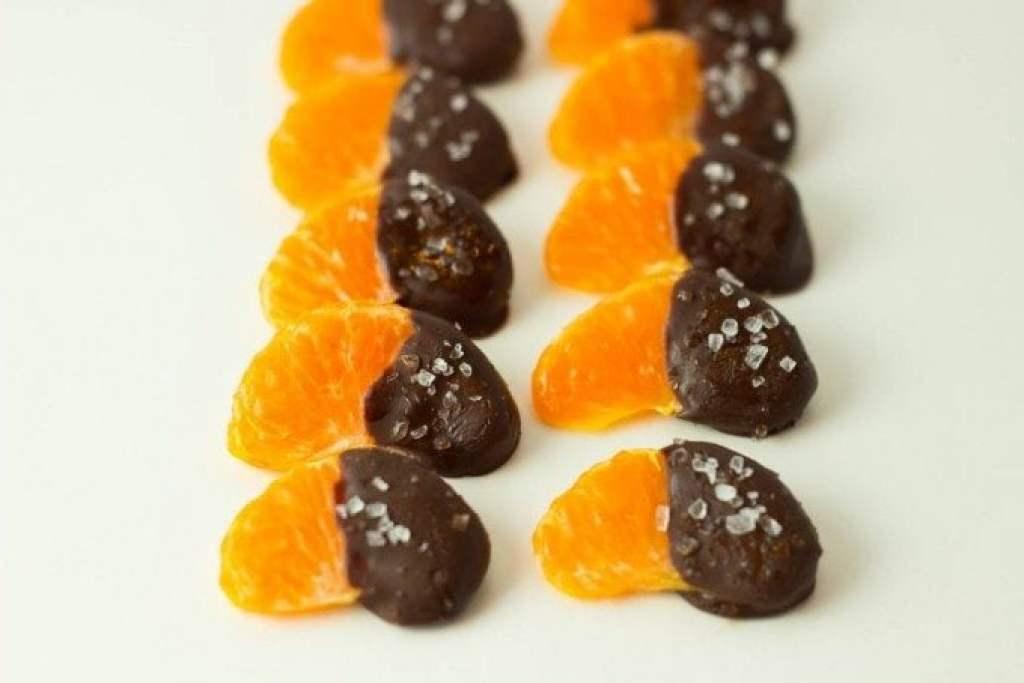 Dark Chocolate Mandarines