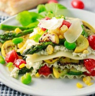 Summer Fresh Vegetable Lasagna (No-Bake)