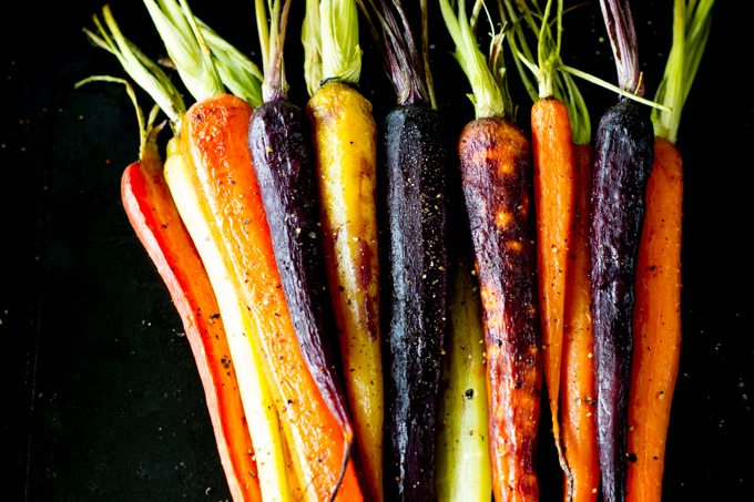 honey roasted carrots -simplehealthykitchen.com #easy # side dish (1 of 1)