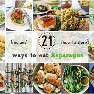 21 Ways to Eat Asparagus