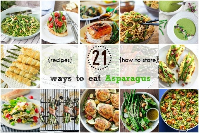 featured ways to eat asparagus