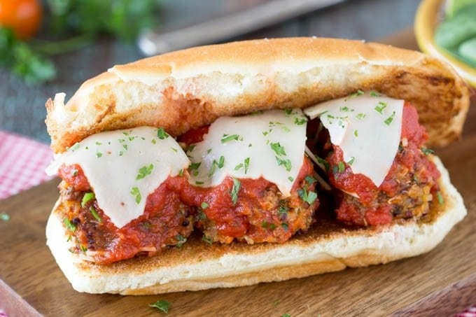 quinoa meatball subfeatured -simplehealthykitchen.com