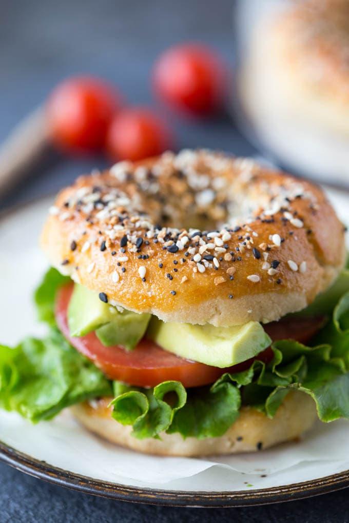 Paleo Everything bagels sandwich-2