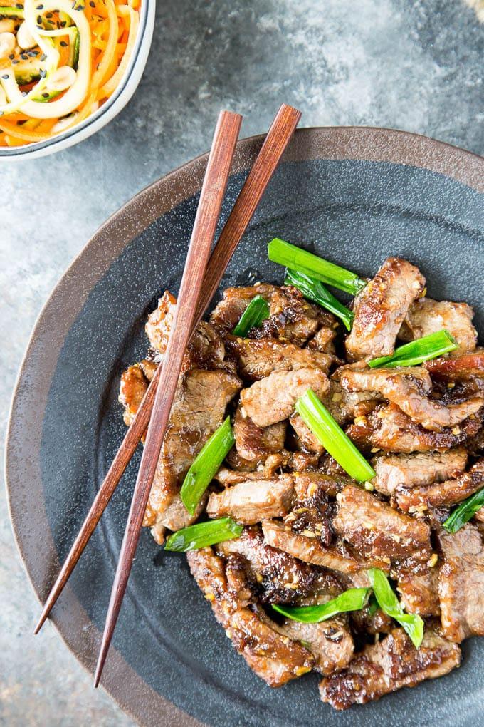 healthy mongolian beef 1