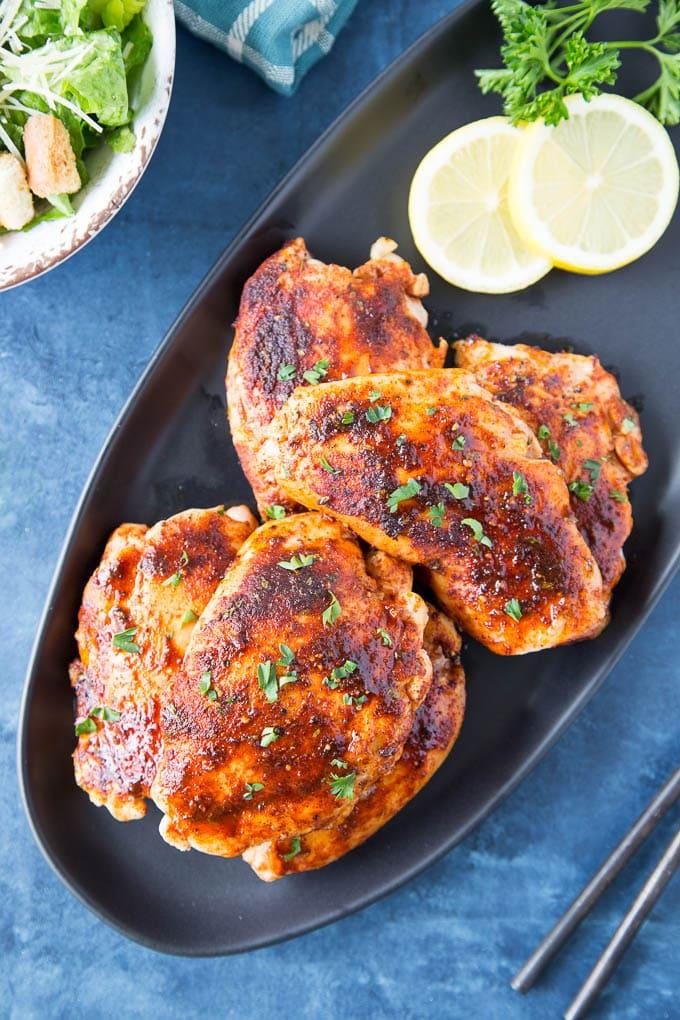 honey paprika chicken platter