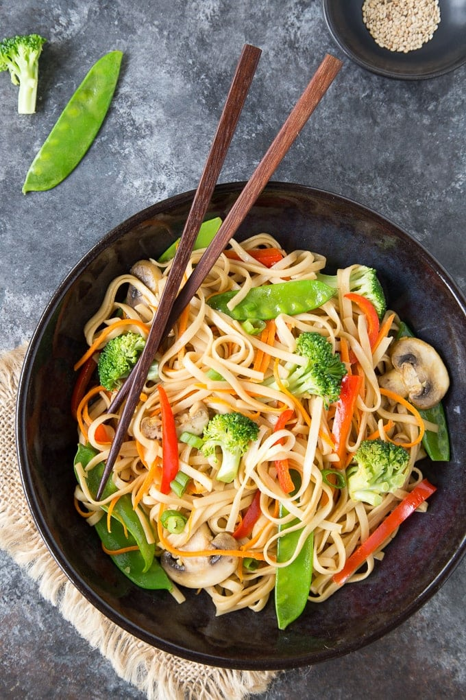 Quick Amp Easy Lo Mein Recipe Instant Pot Or Stovetop