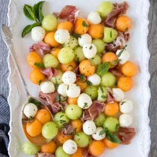 Summer Melon & Prosciutto Salad