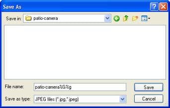 security web cam dorgem
