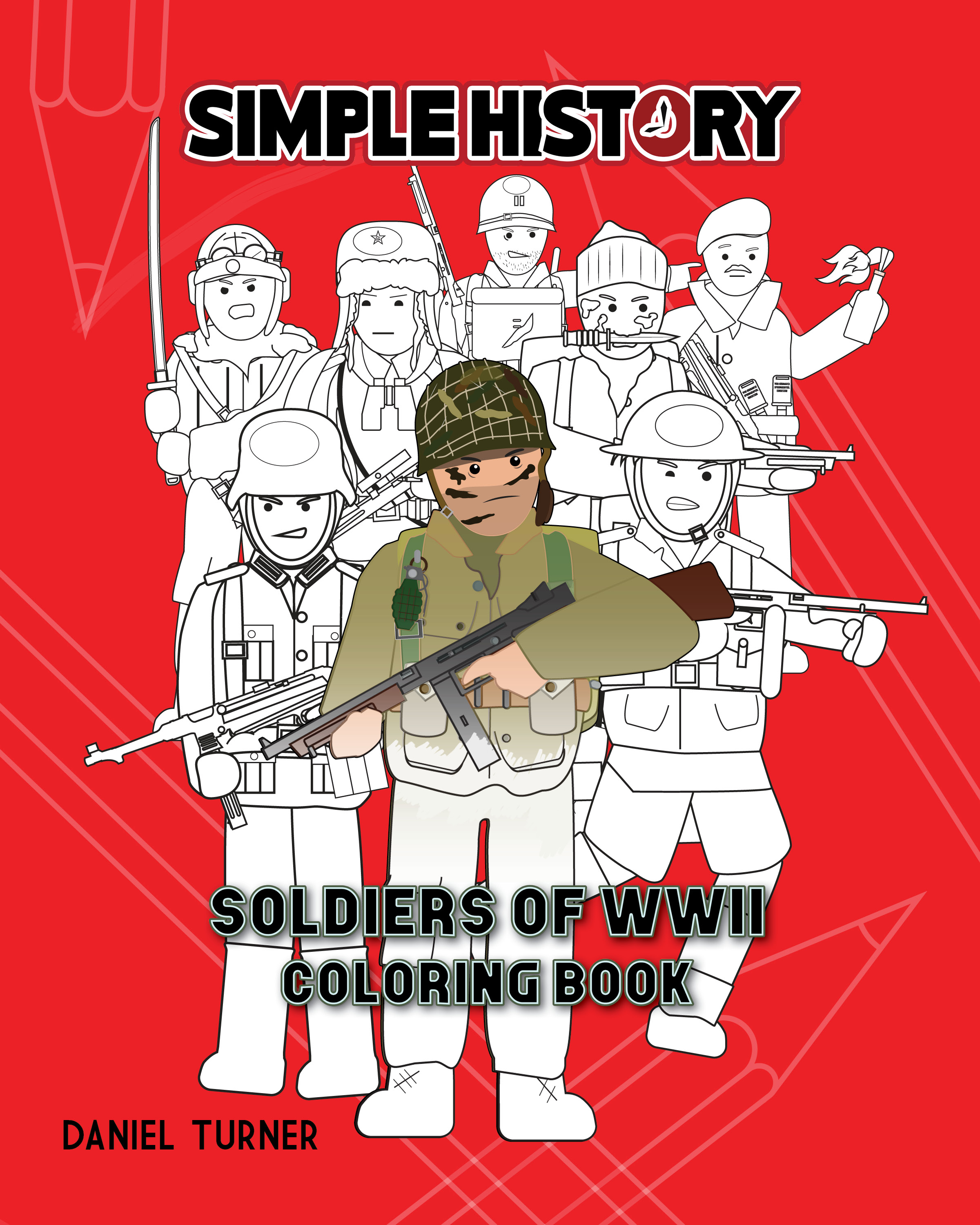 Simple History Sol Rs Of World War Ii Coloring Book