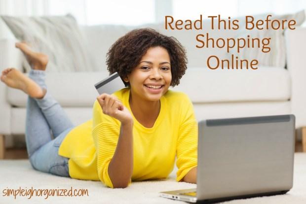 7 tips before shopping online