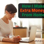 How I Make Extra Money from Home