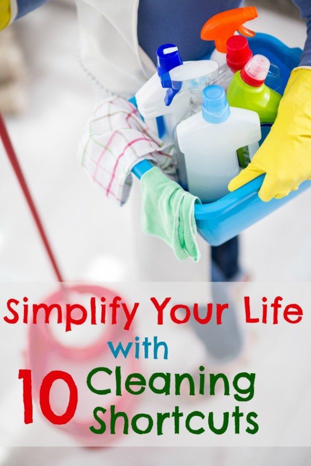 10 cleaning shortcuts