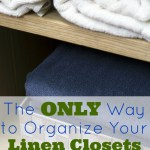 Simple Ways to Organize the Linen Closet