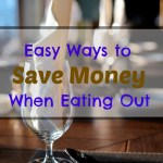 How to Save Money When Eating Out