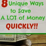 8 Quick & Easy Ways to Save Money