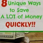 8 Quick & Easy Ways to Save Money
