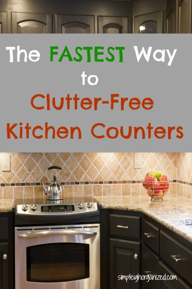 5 Simple Ways To Declutter Your Kitchen Counters Simpleigh Organized