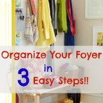12 Week Organizing Series: Organizing The Foyer
