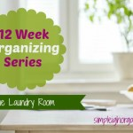 12 Week Organizing Series: The Laundry Room
