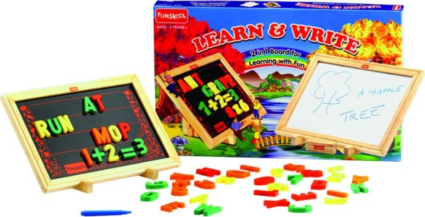 2 in 1 Magnetic And Writing Board Multi Color