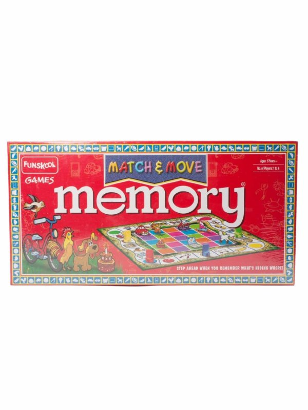 Memory Match and Move
