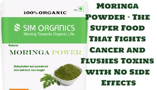 Moringa Powder - SIM Organic