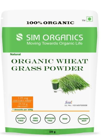 SIM ORGANICS WHEAT GRASS POWDER