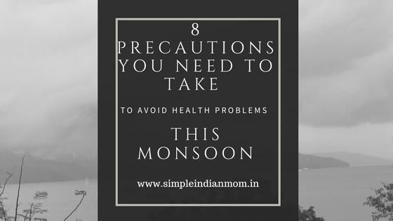 Monsoon Season precautions to Avoid Health problems