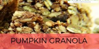 Homemade Recipe For Pumpkin Granola