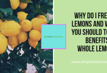 Why Do I Freeze Lemons And Why You Should Too - Benefits of Whole Lemons