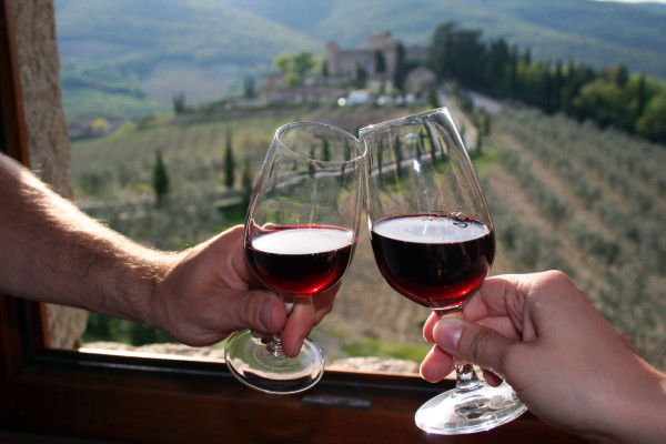 Vendemmia-the grape harvest in Tuscany is the culmination of a year's labor and love.