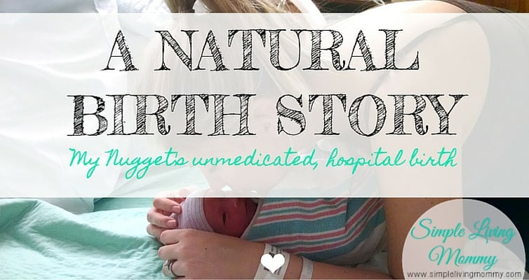 Are you interested in having a natural, unmedicated birth? This mom tells all about her labor, delivery, and premature birth that didn't exactly stick to her birth plan.