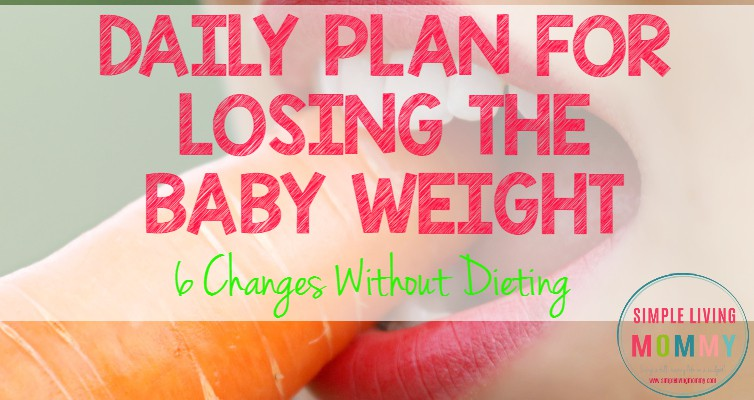 Having trouble losing the last of your baby weight? This mom shares what she's doing to lose the weight without dieting. I'm trying this when the baby comes!