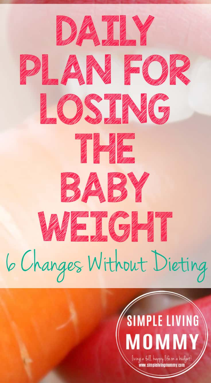 Daily Plan for Losing the Baby Weight PP