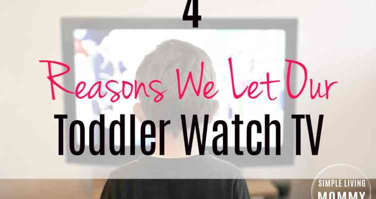 Why We Let Our Toddler Watch TV
