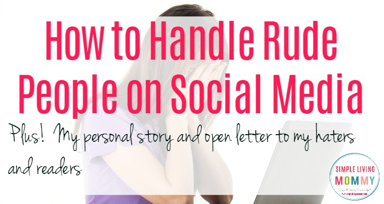 How to Handle Rude People on Social Media