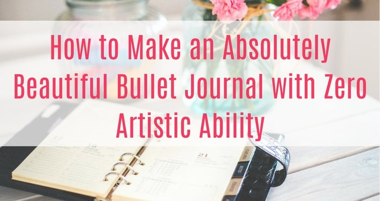 Do you love the beautiful bullet journals you see all over social media, but feel like you can't have a gorgeous bujo because you have no artistic ability? Even if you aren't creative, you can still have gorgeous calligraphy and decorations with these simple and cheap hacks!