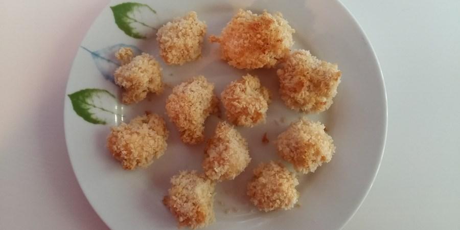 "Chou-fleur au ""poulet popcorn"""