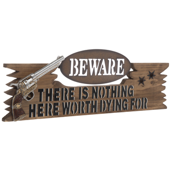 """Beware """"There Is Nothing Here Worth Dying For"""""""