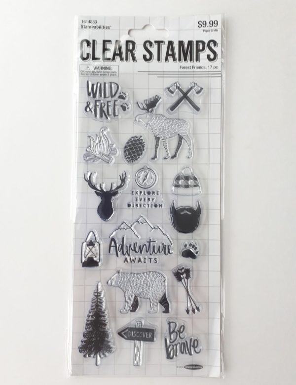 Clear Stamps - Forest Friends