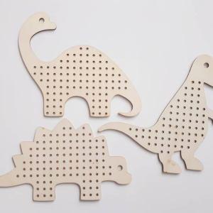 Jeux de laçage - Dinosaures