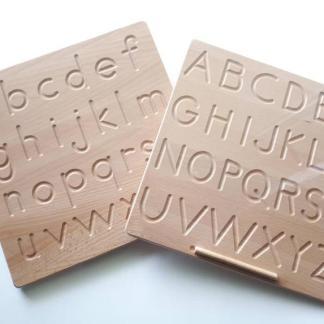 RECTO-VERSO Lettres à tracer Minuscules et MAJUSCULES