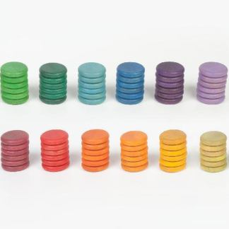 Rondelles Grapat 12 couleurs