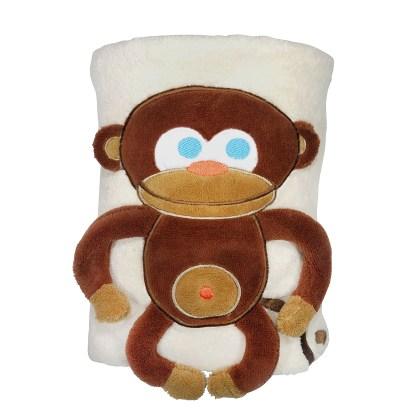 Monkey Snuggle Blanket - SOZO