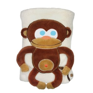 Monkey Snuggle Blanket - SOZO