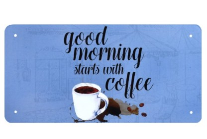 Good morning starts with coffee
