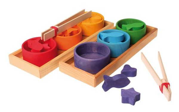 Grimm's Sorting Game Rainbow Bowl