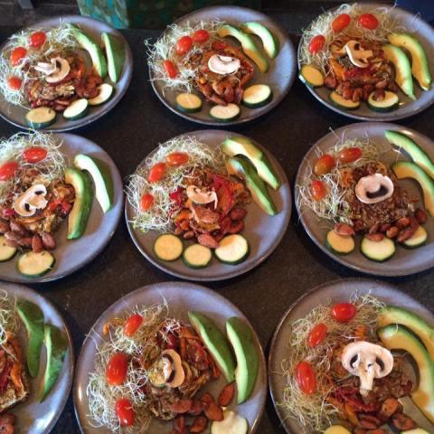 beignets de légumes
