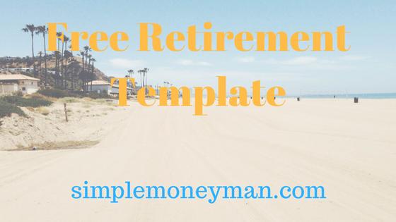 free retirement template simple money man